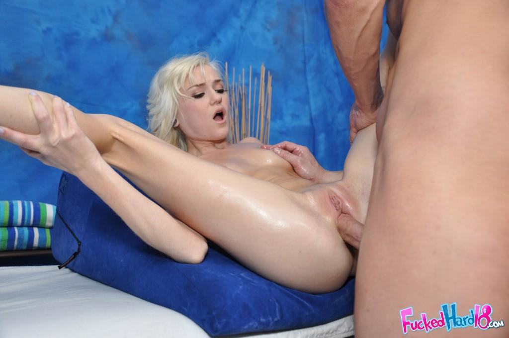chloe foster gets fucked hard naked massage porn